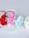 """Flori de Nuntă Legat Manual Trandafiri Corsaj de mână Nuntă Tul Dantelă Mărgea 2.76""""(Approx.7cm)"""