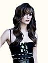 hög kvalitet och eleganta långa syntetiska hår våg peruker förlängningar