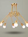 5 Ljuskronor ,  Rustik Mässing Särdrag for Ministil Metall Living Room / Bedroom / Dining Room