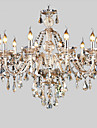 Cognac Crystal Color Pendant Lights Crystal Modern/Contemporary / Traditional/Classic / Retro / Lantern / Country