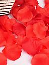 100pc 1 Une succursale Polyester Roses / Plantes Fleur de Table Fleurs artificielles 1.17inch/4.5CM