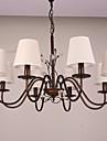 5 Ljuskronor ,  Rustik Målning Särdrag for Ministil Metall Living Room / Bedroom / Dining Room