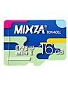 mixza 16 gb klass 10 micro sd tf flashminneskort med hög hastighet äkta läshastighet: 80MB / s vattentät