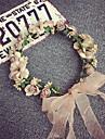 coreeană frumos trandafir coroane de flori Bandă de susținere pentru femeie petrecere de nunta bijuterii de păr Sărbători