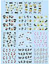 Nail Sticker Nail Art Bouts  pour ongles entiers / Bijoux pour ongles / Autre decorations