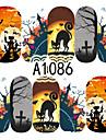 Nail Sticker Nail Art Bouts  pour ongles entiers / Bijoux pour ongles