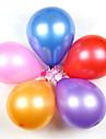 Epaisses ballons ronds ballons de perles de latex de 10 pouces (100 pieces)