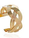 Brățări Brățări Bantă Aliaj Tube Shape La modă Bijuterii Cadou Auriu / Argint,1 buc