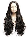 main vague de corps brazilian perruques cheveux noir resistant synthetique avant de dentelle perruque ondulee naturelle de chaleur