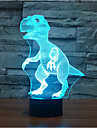 dinosaure tactile gradation 3d conduit de lumiere de nuit lampe atmosphere decoration 7colorful eclairage nouveaute lumiere de Noel