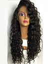 långa vågiga spets front peruker för svarta kvinnor lös våg syntetisk spets peruk hög kvalitet värmebeständig syntetisk peruk