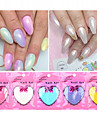 10g / påse trend sjöjungfru effekt nail art diy glitter pulver damm magiska skimmer