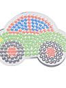 1st mall klart pegboard färgstarka 11cm bil för 5mm Hama Pärlor Perler pärlor säkrings pärlor