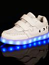 Svart / Vit-Platt klack-Flickor-Komfort-Tyll / Textil-Sport-Sneakers