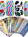 nagel konst nagel Sticker Helnageltoppar / Nagelsmycken