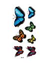 1 Tatueringsklistermärken Djurserier Ogiftig Mönster Vattentät 3DDam Vuxen Blixttatuering tillfälliga tatueringar