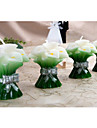 Green Calla Candle Favor (Set of 2)