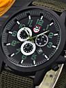 Bărbați Ceas Militar Ceas de Mână / Quartz Piele Bandă Casual Negru