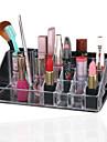 akryl kosmetiska organisatör klar makeup smycken kosmetiska förvaringsbox visas rutan sminkförvarings arrangör rutan