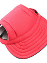 Chien Bandanas & Chapeaux Rouge / Bleu / Noir Vetements pour Chien Hiver / Printemps/Automne Couleur Pleine Decontracte / Quotidien