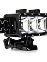 Tillbehör till GoPro,Spotlight LED Vattentätt hus Inbyggd Blixt, För-Actionkamera,Gopro Hero1 Gopro Hero 2 Gopro Hero 3 Gopro Hero 3+