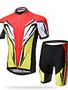 XINTOWN® Maillot et Cuissard de Cyclisme Homme Manches courtes VeloRespirable / Sechage rapide / Resistant aux ultraviolets / La peau 3
