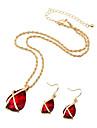 Bijuterii Coliere / Σκουλαρίκια Colier / cercei / Seturi de bijuterii de mireasă / Set / Seturi de bijuteriiLa modă / Vintage /