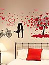Botanique / Romance / Nature morte Stickers muraux Stickers avion / Stickers muraux 3D Stickers muraux decoratifs,PVC Materiel