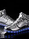 Unisexe-Exterieure Decontracte Sport-Argent Or-Talon Plat-Confort Bottes a la Mode Light Up Chaussures-Baskets-Synthetique