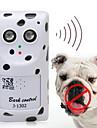 Chien Electronique Accessoires de comportement A Ultrasons Sans fil Anti-aboiement Blanc Plastique