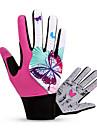 BATFOX® Gants sport Femme Gants de Cyclisme Printemps Automne Gants de Velo Garder au chaud Respirable Resistant au vent Vestimentaire