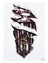 1 Tatueringsklistermärken Annat Ogiftig / Mönster / Ländrygg / VattentätDam / Herr / Vuxen Flash tatuering tillfälliga tatueringar