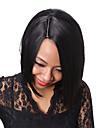 rihanna stil naturlig svart kort rakt hår bob peruk för svarta kvinnor afrikansk amerikan syntetiska peruker