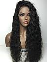8a fullt spets människohår peruker för kvinnor brasilianskt jungfru håret fullt spets peruker vatten wave människohår peruker