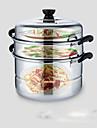 1pc slap-up multi-usages restaurant cuisine domestique culinaires ustensiles de cuisine a vapeur en acier inoxydable