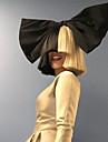 mode korta raka vit svart gradvis förändring färg afro kvinnor cosplayaa syntetiska peruker