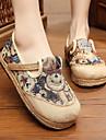 Damă Pantofi Flați Confortabili Pânză Primăvară Toamnă Casual Confortabili Toc Plat Verde Albastru Plat