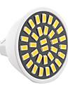 7W GU5.3(MR16) LED-spotlights MR16 32 SMD 5733 500-700 LM Varmvit Kallvit Dekorativ AC 220-240 AC 110-130 V 1 st