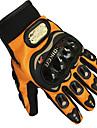 biker mcs-01c pro gants de moto d\'orange velo confort gants en maille respirante