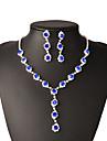 Bijuterii Coliere / Σκουλαρίκια Colier / cercei / Seturi de bijuterii de mireasă Franjuri / La modă Petrecere / Zilnic / Casual 1set Dame