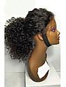 8a 8-30inch glueless lace front perruques naturelles couleur noire brazilian perruques de cheveux humains boucles pour les femmes