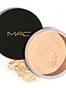 1 Puder Torr / Matt / Mineral Löst puder Vitning / Långvarig / Concealer / Vattentät / Naturlig Ansikte Tillgänglig Färg Guangzhou MRC