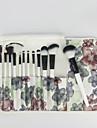12 ensembles de brosses Poil Synthetique Professionnel / Portable Bois Visage / OEil / Levre Autres