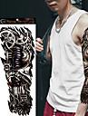 1Pcs Tatouages Autocollants Autres Non Toxic / Grande Taille / WaterproofHomme / Femme / Adolescent flash Tattoo Tatouages temporaires