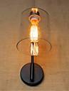 ac 110-130 / ac 220-240 40W E26 / E27 rustic / lodge / land svart oxid yta funktion för ledde / svängarm / lampa, omgivande ljus