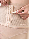 Women\'s Underbust Corset Nightwear Sexy Solid-Thin Nylon Beige