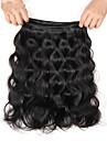 Tissages de cheveux humains Cheveux Indiens Ondulation naturelle 3 Pieces tissages de cheveux