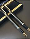 Stylo Stylo Stylos-plumes Stylo,Plastique Baril Noir Couleurs d\'encre For Fournitures scolaires Fournitures de bureau Pack