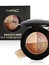 4 Palette de Fard a Paupieres Sec / Materiel Fard a paupieres palette Poudre Normal Maquillage Quotidien