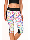 Yoga Pants Underdelar Andningsfunktion Naturlig Stretch Fotbollströjor Vit Dam Sport Yoga